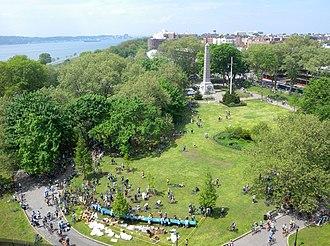 Dover Patrol Monument - Memorial in John Paul Jones Park, Brooklyn, New York