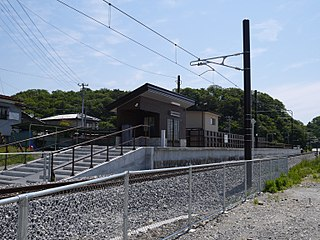 Rikuzen-Tomiyama Station Railway station in Matsushima, Miyagi Prefecture, Japan