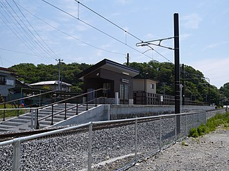 Rikuzen-Tomiyama Station - Rikuzen-Tomiyama Station in May 2015
