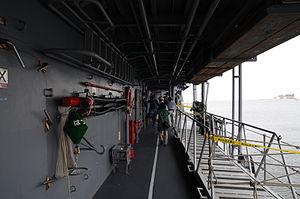JS Hatsuyuki's starboard side alleyway, -2 Aug. 2011 a.jpg