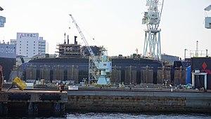 Sōryū-class submarine - Zuiryū (SS-505) under construction