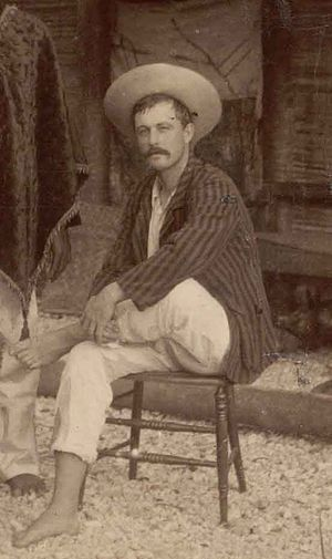Jack Buckland - Buckland in May 1890 (photo by R. L. Stevenson and L. Osborne)