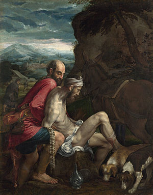 Jacopo Bassano - The Good Samaritan