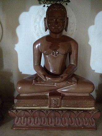 Dharmanatha - Dharmanatha statue at Anwa, Rajasthan