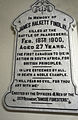 James Halkett Findlay Memorial Stone, Barrie, Ontario.jpg