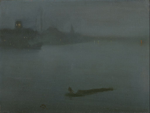 James McNeill Whistler - Nocturne in Blue and Silver - Google Art Project