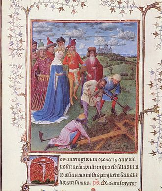 Turin-Milan Hours - The Finding of the True Cross probably by Hand G, Turin