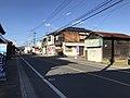 Japan National Route 496 near Nishikimachi Inari Shrine in Miyako, Miyako, Fukuoka 2.jpg