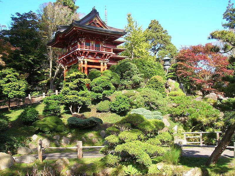 File japaneseteagarden jpg wikimedia commons for Jardines orientales fotos