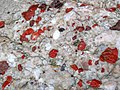 Jasper-quartz pebble conglomerate (Lorrain Formation, Paleoproterozoic, ~2.3 Ga; Ottertail Lake Northeast roadcut, near Bruce Mines, Ontario, Canada) 71 (40743163883).jpg