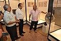 Jayanta Sengupta Visits With Shrikant Pathak And Manash Bagchi - Objects In CRTL Archive Exhibition - NCSM - Kolkata 2018-05-18 0728.JPG