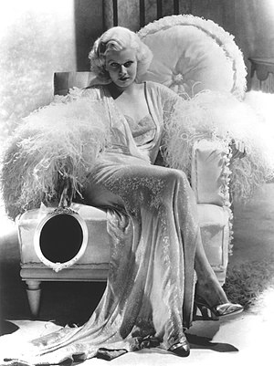 Dinner at Eight (film) - Jean Harlow as Kitty Packard in Dinner at Eight
