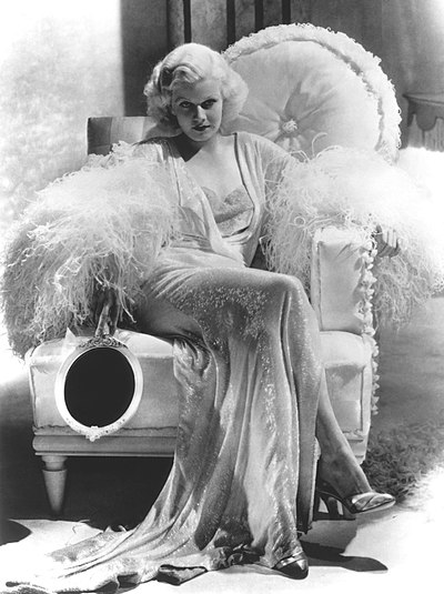 Jean Harlow, American actress