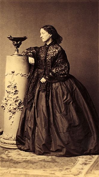 Jeanne Villepreux-Power - Jeanne Villepreux-Power, photographed in 1861 by André-Adolphe-Eugène Disdéri