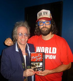 Jeffrey L. Gurian - Jeff Gurian with his book Make Em Laugh