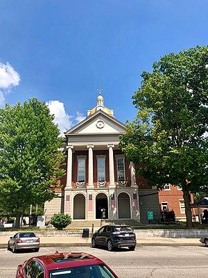 Здание суда округа Джефферсон в Мэдисоне