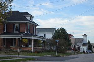 Pitsburg, Ohio - Jefferson Street south of downtown