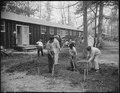 Jerome Relocation Center, Denson, Arkansas. A typical street scene in Block 30. - NARA - 538862.tif