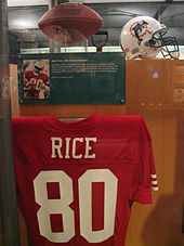reputable site 30ad1 92f2e Jerry Rice - Wikipedia