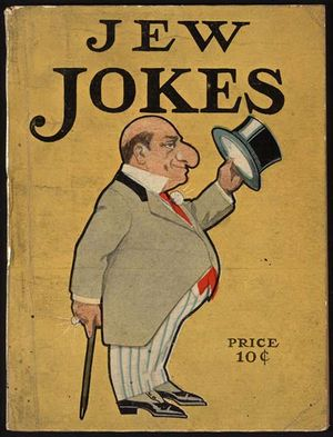 Ethnic joke - A 1908 American joke book about Jews