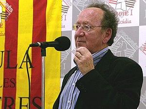 Joan Francesc Mira i Casterà - Mira in L'Alcúdia , November 2007