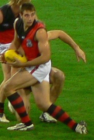 Jobe Watson - Watson playing in 2007