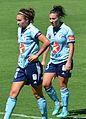 Jodie Taylor and Trudy Camilleri DSC 5428.jpg