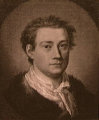 Johan Edvard Mandelberg - Johan Mandelberg painted by Peder Als in 1758