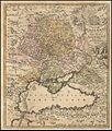 Johann Baptist Homann. Tabula Geographica qua pars Russiae Magnae Pontus Euxinus seu mare Nigrum. Nuremberg 1720.jpg