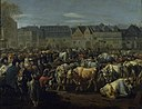 Johann Heinrich Roos - A Cattle Fair - KMS4793 - Statens Museum for Kunst.jpg