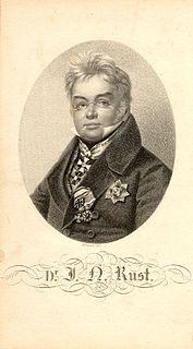 Johann Nepomuk Rust Austrian surgeon