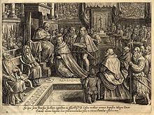 Giovanni Stradano, Incoronazione di Cosimo I come granduca
