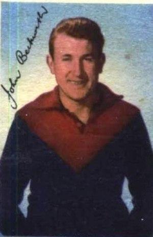 John Beckwith (footballer) - Image: John Beckwith 1954
