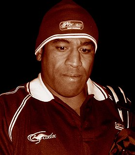 John Hopoate Australian-Tongan rugby league player