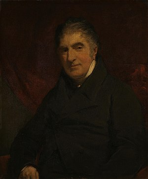 William Holwell Carr - Portrait of Carr by John Jackson, 1827, now in the National Gallery, London.