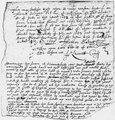 John Leverett Letter Fragment 1653 - NARA - 192948.tif