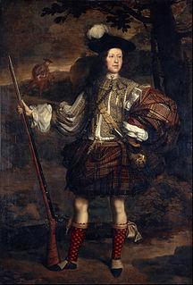 Portrait painting in Scotland
