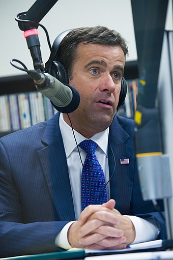 John Ratcliffe during an interview with KETR in February 2015 John Ratcliffe at KETR (16406958990).jpg
