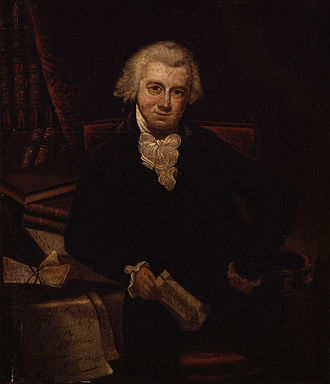 John Reeves (activist) - Portrait of John Reeves by Thomas Hardy, 1792.