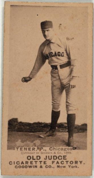 Congressional Baseball Game - John Tener organized the first Congressional baseball game