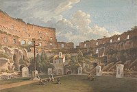 John Warwick Smith - An Interior View of the Colosseum, Rome - Google Art Project.jpg