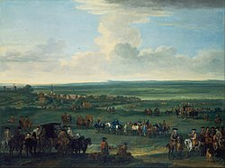 John Wootton: George I at Newmarket, 4 or 5 October, 1717