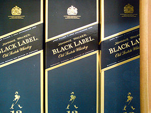 Johnnie Walker Black Label (12 years Scotch Wh...