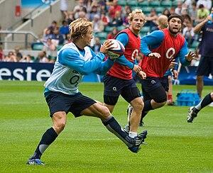 Jonny Wilkinson à l'entraînement avec le XV de...