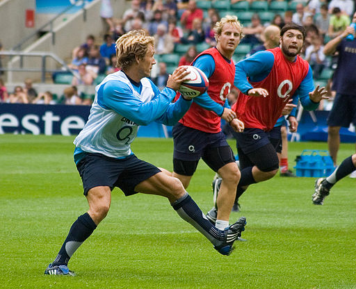 Jonny Wilkinson 2009 08 england training 2