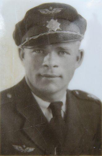 Josef Bryks - Josef Bryks in Czechoslovak Air Force uniform