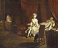 Joseph Highmore (1692-1780) - VII, Pamela in the Bedroom with Mrs Jewkes and Mr B. - N03574 - National Gallery.jpg