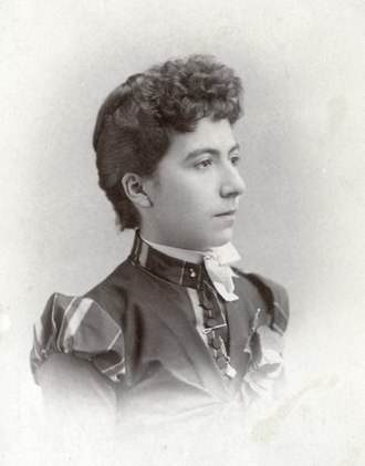 Johnny Behan - Possibly Josephine or Sadie Marcus in 1881.