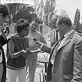 Josephine Baker in Kasteel Les Milandes Interview Henk van Stipriaan met J B, Bestanddeelnr 912-6505.jpg
