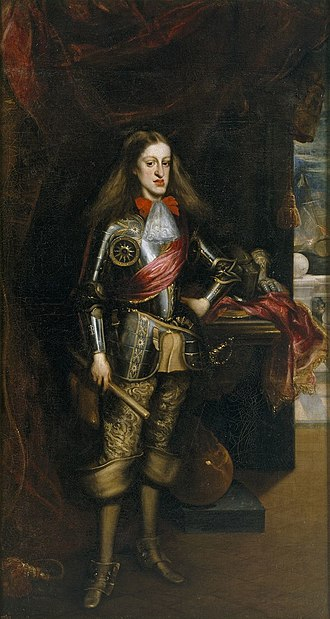 Charles II in armor - Image: Juan Carreno de Miranda 023